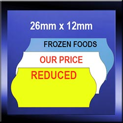 Promotional Price Gun Labels | 26mm x 12mm