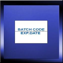 26mm x 16mm Batch Code Labels