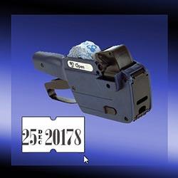 Open 8 digit punch hole label gun