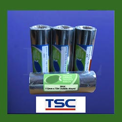 TSC Wax Thermal Transfer Ribbons