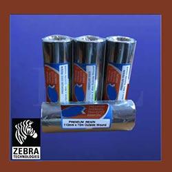 Zebra Resin Thermal Transfer Ribbons