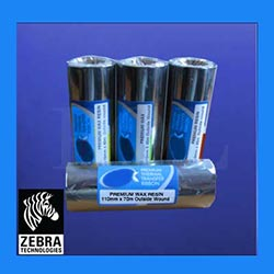 Zebra Wax Resin Thermal Transfer Ribbons