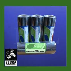 Zebra Wax Thermal Transfer Ribbons