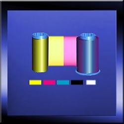 YMCKO Colour Ribbon - Zebra ID Card Ribbons