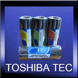 Toshiba Tec Thermal Transfer Ink Ribbons