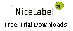 Nicelabel Labelling Software Trials Button