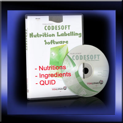 EU Compliant Nutritional Labelling Software - Food Products